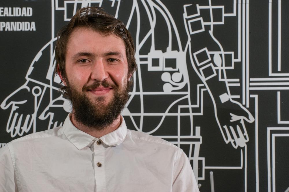 Nathan Gates, ganador del premio Africa ArtBox 2017, visitó Bogotá