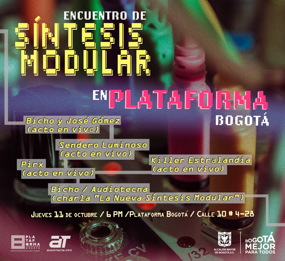 Encuentro de Síntesis Modular en Plataforma Bogotá