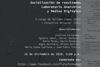 Afiche socialización Anarchivo