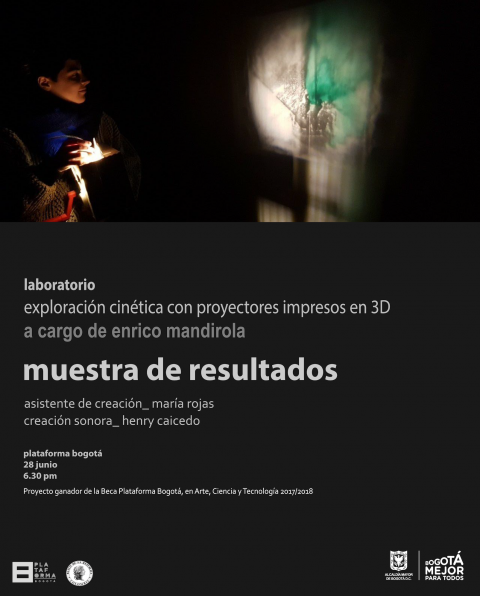 Plataforma Bogotá abre exposición con proyectores impresos en 3D