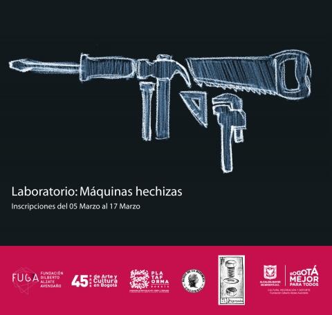 Convocatoria Plataforma Bogotá y FUGA - Máquinas hechizas