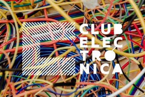 Logo Club Electrónica - Fondo Cables