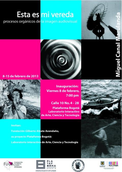 Muestra Audiovisual en Plataforma Bogotá