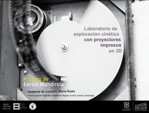 Laboratorio de exploración cinética con proyectores impresos en 3D