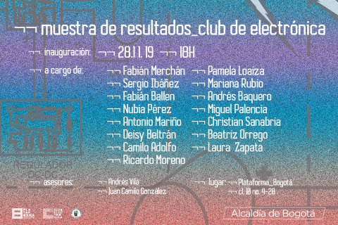 Pieza Club Electrónica