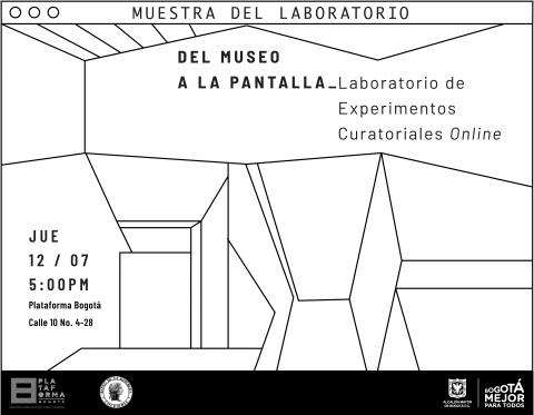 Experimentos Curatoriales Online, nueva muestra de resultados de Plataforma Bogotá