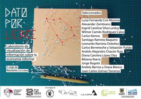 Convocatoria Dato por Liebre - Plataforma Bogotá