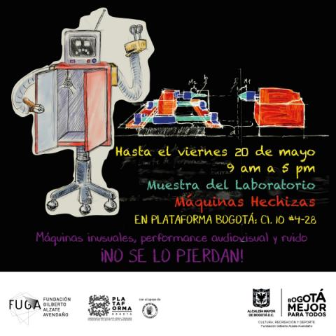 Muestra del Laboratorio - Plataforma Bogotá