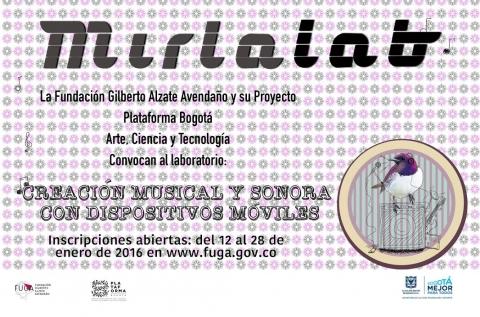 Convocatoria Plataforma Bogotá y FUGA