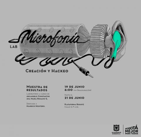 Microfonía: una exposición para pensar el arte por medio del sonido