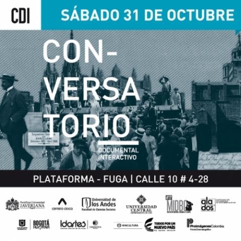 Narración interactiva -  Plataforma Bogotá