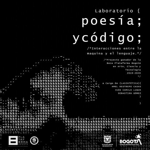 Invitación Laboratorio de Poesía y Código