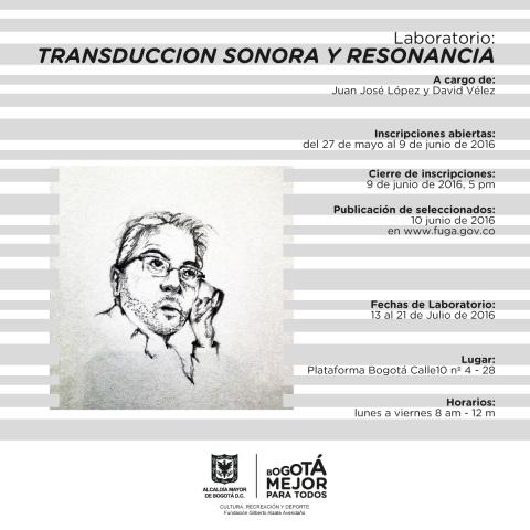 Transducción Sonora y Resonancia