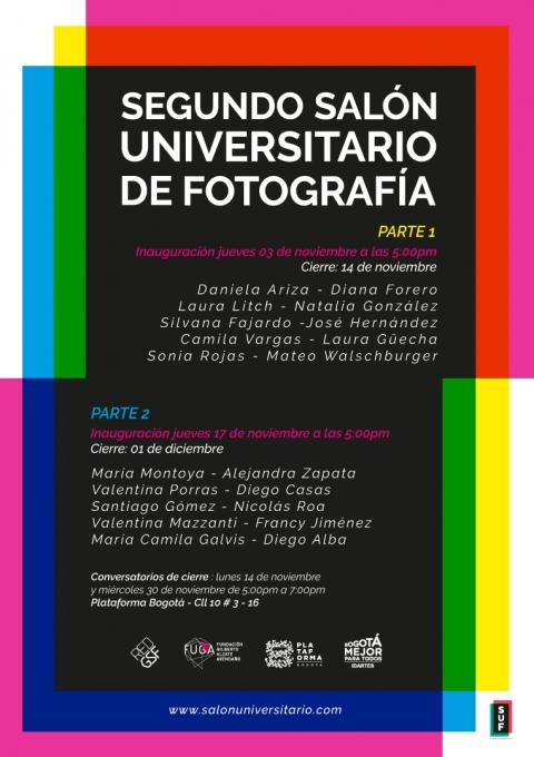 El Segundo Salón Universitario de Fotografía se llevará a cabo en