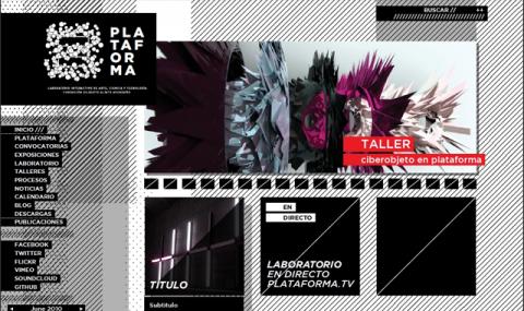Taller Carlos Trilnick Artes Electrónicas y Digitales